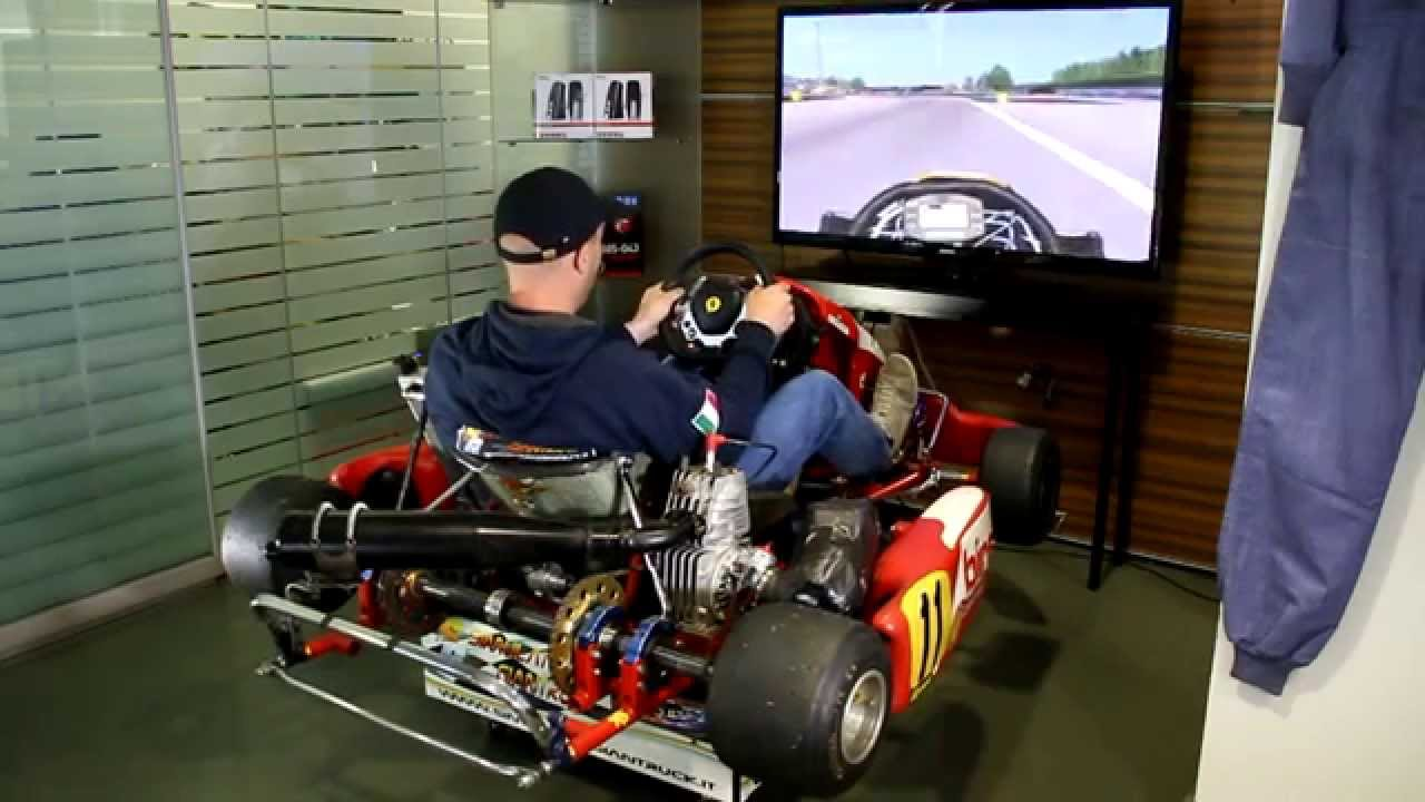 Simulatorgiantruck go kart dinamico youtube for Simulatore di arredamento