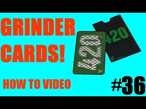 How To Make Cool Grinder Cards!!! (EASY!)