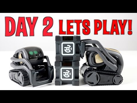 Let's Play! VECTOR - DAY 2-  Anki's New Cute AI Metal Robot (FULL REVIEW + FREE VECTOR GIVEAWAY!)