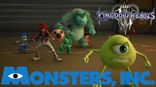 Monsters, Inc. Kingdom Hearts 3 Episode 7