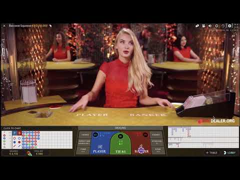 Squeeze Live Baccarat With Dealer Estere