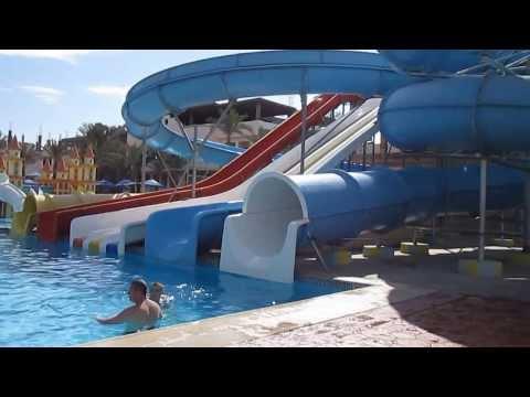 Отдых в Египте глазами туриста (г. Хургада, отель Lillyland) ч.6 аквапарк отеля и бары