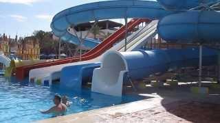 Отдых в Египте глазами туриста (г. Хургада, отель Lillyland) ч.6 аквапарк отеля и бары(Продолжение осмотра отеля: аквапарк, бары, ресторан алякарт., 2014-02-15T04:04:39.000Z)