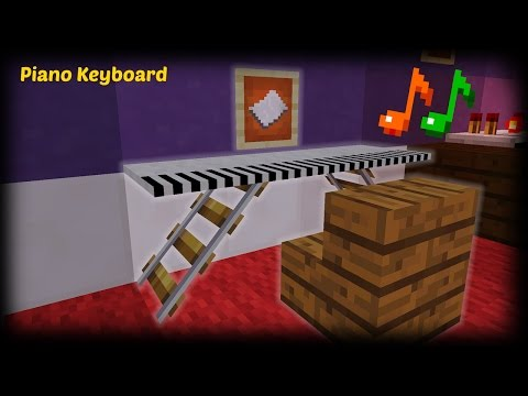 Minecraft - How to make a Piano Keyboard