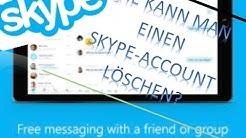 Skype-Account löschen / Tutorial