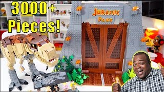 LEGO Jurassic Park Build - Over 3000 Pieces!