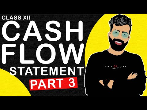 Cash Flow Statement Series - Part-3 - Class 12- Accounts - C.B.S.E. - Commerce Baba