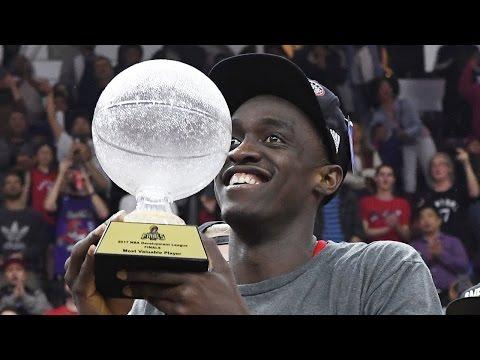 Raptors Rookie Pascal Siakam Wins 2017 NBA D-League Finals MVP