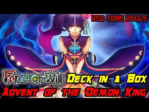 Force of Will ► Advent of the Demon King Deck in a Box ► Challenge Accepted!