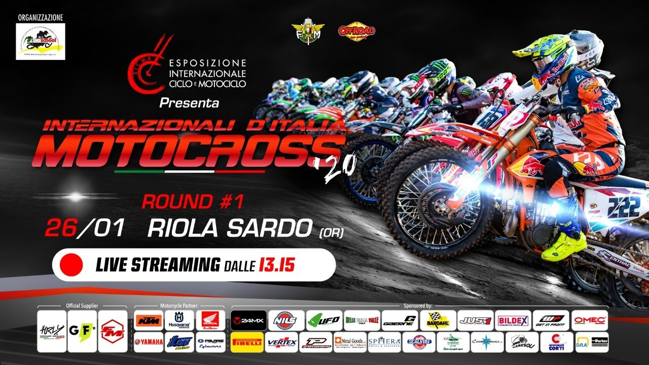 Italian International MX in Riola Sardo 2020 – Live