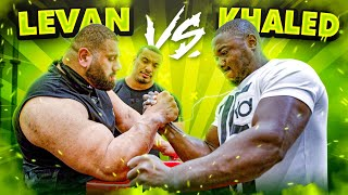 KHALED VS LEVAN SAGINASHVILI!