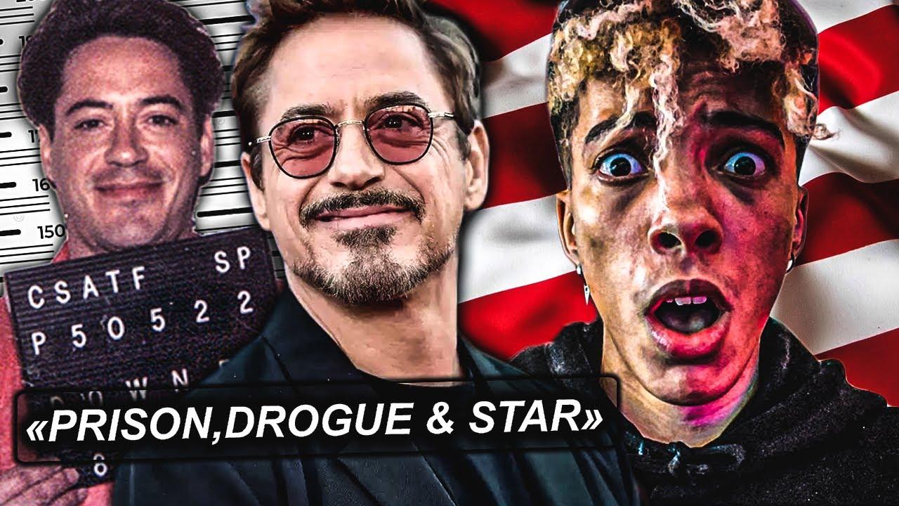 cet ACTEUR a été en PRISON...voilà pourquoi (Robert Downey Jr Iron Man)