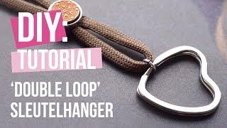 Sieraden maken: 'Double loop' sleutelhanger ♡ DIY