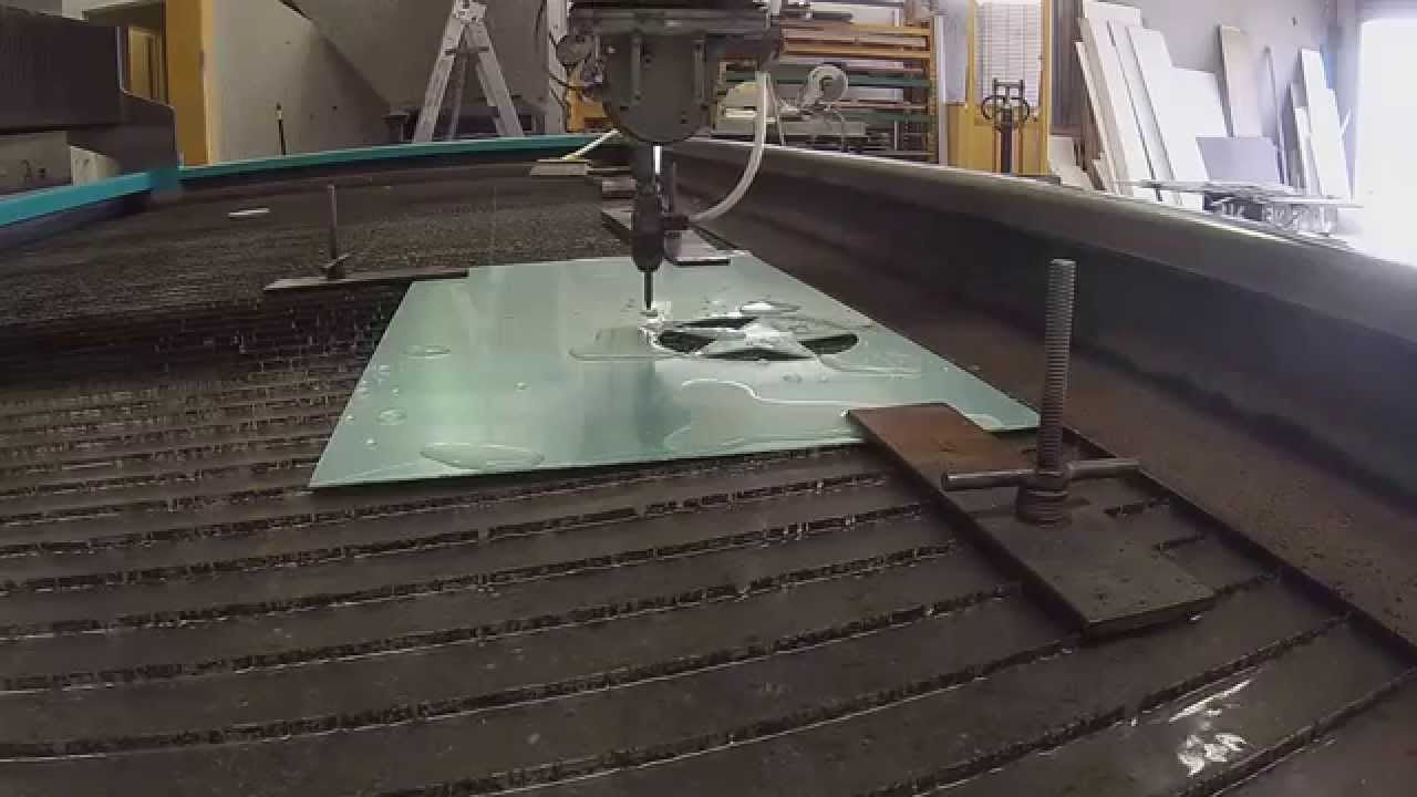 Waterjet Cutting Freeform Sheet Metal Youtube