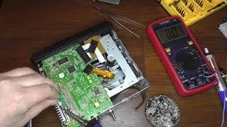 Ремонт магнитолы супра SCD 355U