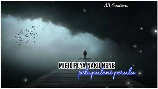 Migilipoya Naku Nene wtsap status