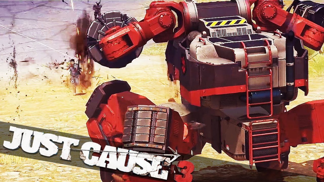 just cause 3 mech land assault how to start