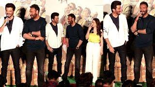 Ajay Devgan,Madhuri & Anil Kapoor FUNNY Moments At Total Dhamaal Trailer Launch or Total Dhamaal