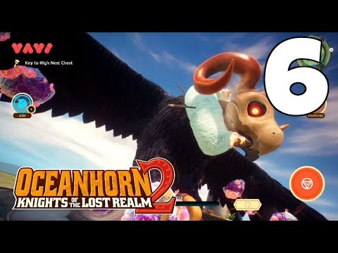 OCEANHORN 2 - APPLE ARCADE Walkthrough Gameplay #6 | How To Get Grappling Hook | BEAT CHORA TUYK