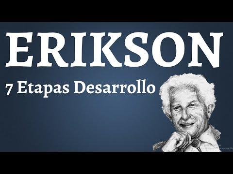 Erik Erikson, Etapas del Desarrollo Psicosocial
