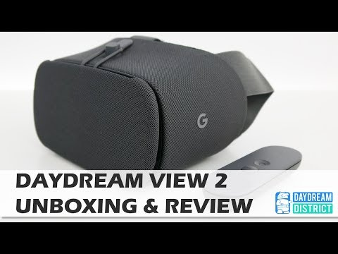 New Daydream View 2 Unboxing & Hands-On Review | Daydream View 2017 Review
