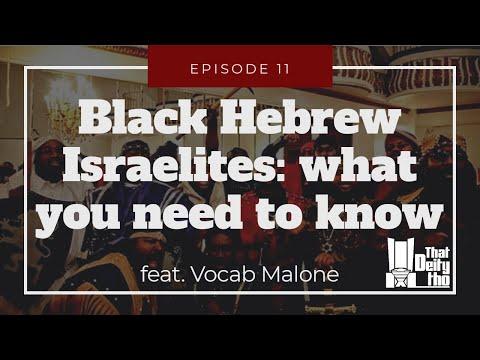 Black Hebrew Israelite Discussion With Vocab Malone