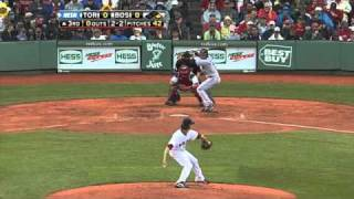 Buchholz strikes out seven