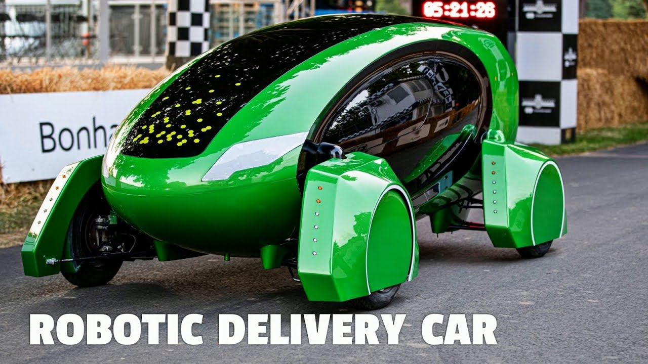 This Robotic Car is the Future of Contact-Free Parcel Delivery