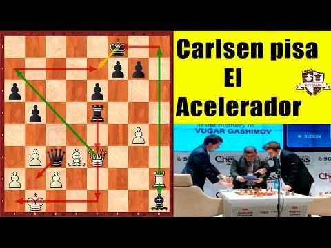 Carlsen pisa el acelerador! | Shamkir Chess 2018 | Ronda 5