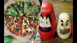 Почему пицца не итальянская, а матрёшка не русская: 9 вещей, которые придумали не там