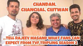 Rajeev Masand I TVF Tripling Season 2 I Sumeet Vyas I Maanvi Gagroo I Amol Parashar