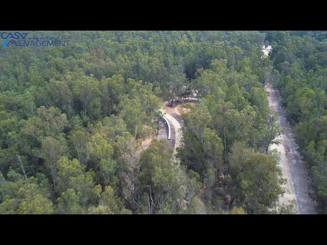 Survol De La Forêt De Bouskoura Merchich En Travaux Youtube
