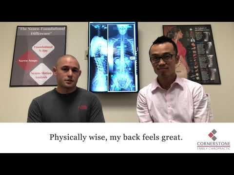 Aaron's Testimonial with Foundational Chiropractor