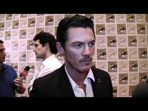 Immortals Comic-Con Exclusive: Luke Evans