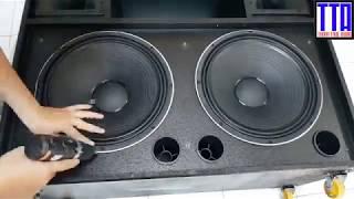 Hướng dẫn ráp loa kéo di động công suất lớn - Phần 1 - Thanh Trúc Audio