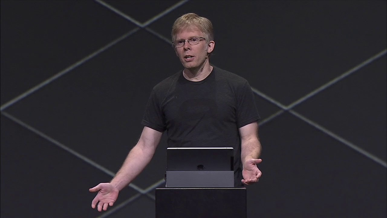 Oculus Connect 4 | Day 2 Keynote: Carmack Unscripted