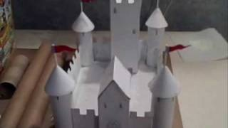 Make a paper and cardboard castle