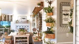 Spring Farmhouse Home Decor Tour