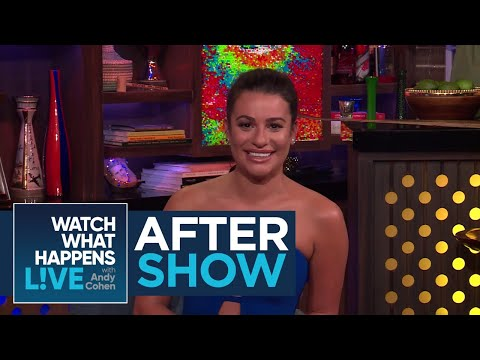 After : The Craziest Lea Michele Rumor  RHONY  WWHL