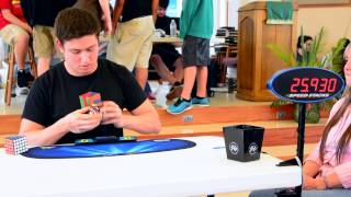 7x7 rubik s cube world record 2 42 85 mean of 3 2 37 56 single nar