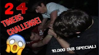 24 TIMERS CHALLENGE I TRAMPOLIN PARK!!! - 10.000 Sub Special