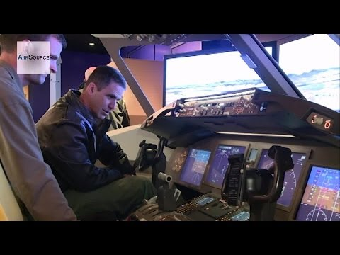 Boeing's KC-46 simulator visits McConnell Air Force Base