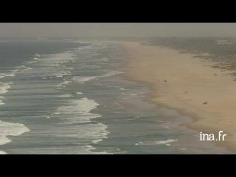 Sénégal : récolte du sel au lac Retba