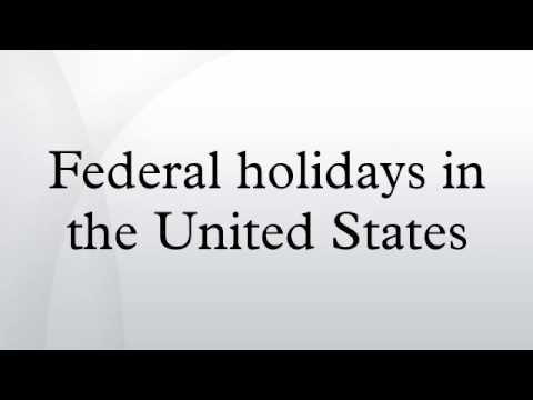 United States Federal Government Calendar 2018 – US Public and Government Holidays