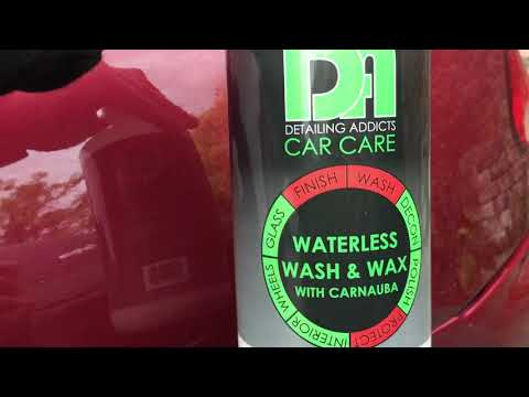 Detailing addicts car care waterless wash and wax with carnauba product review