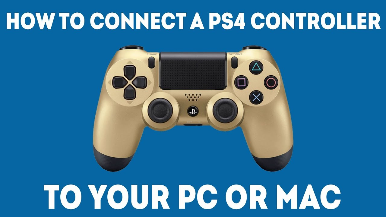 How To Use A PS4 Controller On PC and Mac (Simple Guide)
