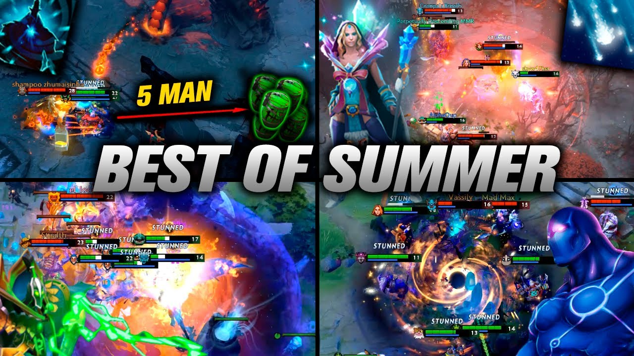 BEST of SUMMER 2020 - Dota 2 Highlights TV thumbnail