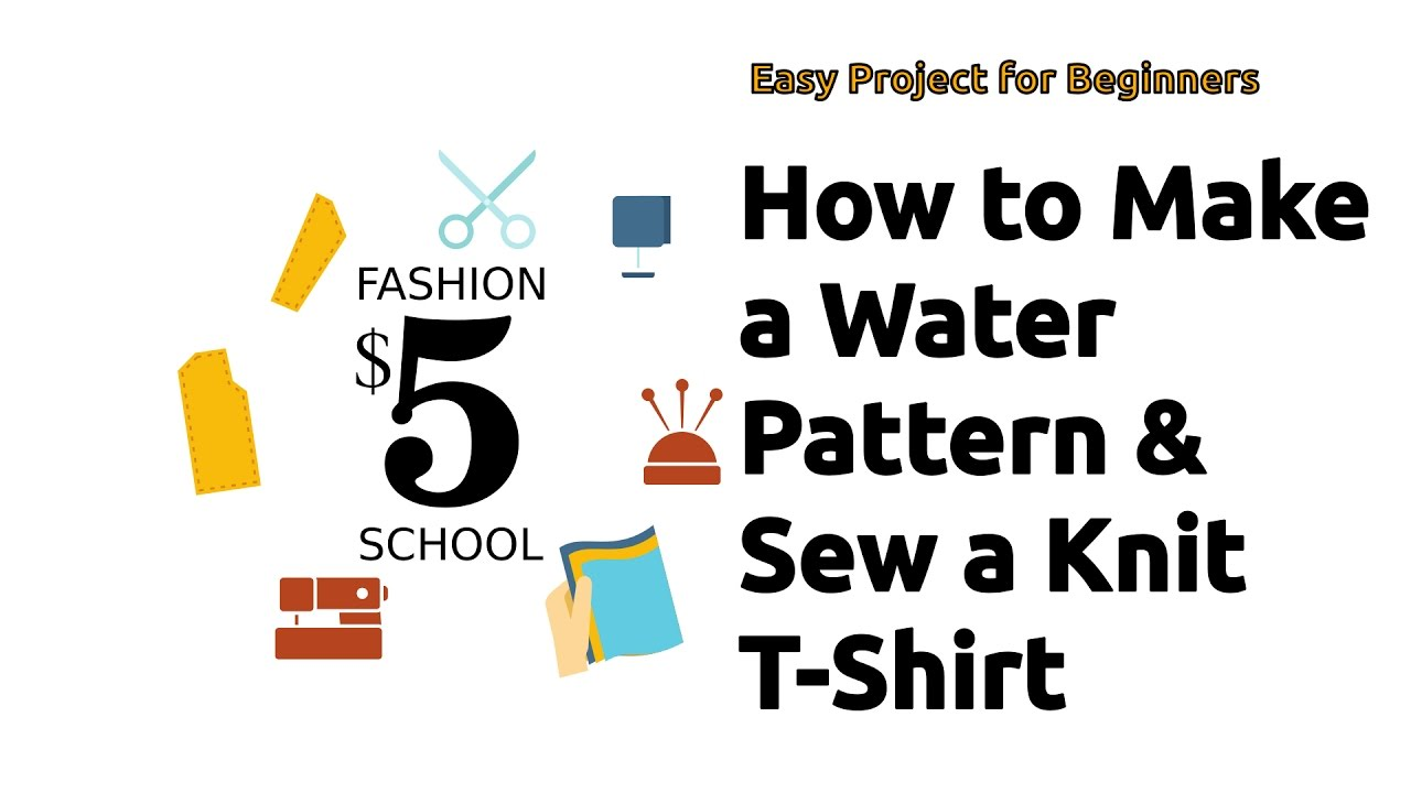 How to make a water pattern and sew a knit shirt 5 fashion how to make a water pattern and sew a knit shirt 5 fashion school bankloansurffo Images