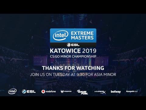 LIVE: Vitality vs North - IEM Katowice EU Minor 2019 - Day 5