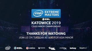 LIVE: Vitality vs North- IEM Katowice CIS Minor 2019 - Day 5